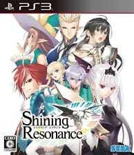 Used PS3 Shining Resonance Japanese version Japan import free shipping