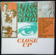 THE KINGSTON TRIO - CLOSE UP VINYL LP AUSTRALIA WORLD RECORD CLUB ISSUE