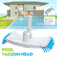 Swimming  Pool Vacuum Head Sweep Broom Side Cleaning Brush Pool Cleaner