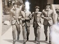 The Beatles looking vintage press photo Apple Record Jack Hart Productions Rare