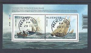 2021 Bluenose (1921-2021) Souvenir Sheet CDS First Day Cancel