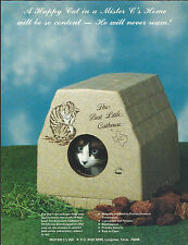Brochure-BEST LITTLE CATHOUSE IN TEXAS,Mister C's,Longview,TX.Cat box=melaneybuy