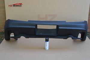 VZ LOOK REAR BUMPER FOR HONDA S2000 1999 2007 BLACK PRIMED UK STOCK