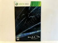 Halo Anniversary Xbox 360 MANUAL ONLY Authentic Original