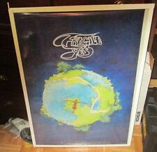 YES POSTER NEW 2016  limited production run  ROUNDABOUT