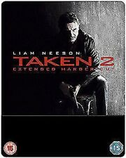 TAKEN 2 - étendue Harder Cut Steelbook Blu-ray Blu-ray NEUF (5505807004)