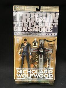 Kaiyodo Trigun Nicholas D Wolfwood Action Figure Sealed
