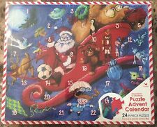 Countdown to Christmas Puzzle Advent Calendar 24 9-Piece Puzzles *BRAND NEW*