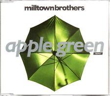 MILLTOWN BROTHERS - APPLE GREEN REMIX - 4 TRACK CD SINGLE