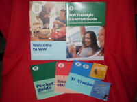 WW Weight Watchers Welcome LOT, Kickstart Guide, 2 Charms,Pocket guide,PLUS!!