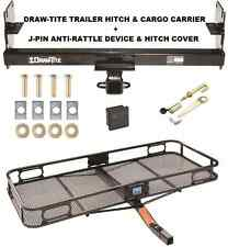 TRAILER HITCH + CARGO BASKET CARRIER + SILENT PIN LOCK FITS 05-15 TOYOTA TACOMA