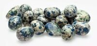 K2 Jasper Azurite in Granite Polished Tumbled Gemstone