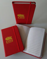 EWS Notebook Jotter Hardback Trainspotting Enthusiast BR British Rail CLASS 66