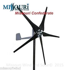 DC output Missouri Confederate 700 watt 5 blade 12 volt home wind turbine