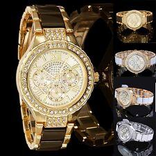 NEU Mode Damen Uhr Quarzuhr Digitaluhr Modern Armbanduhr Sportuhr Edelstahluhr