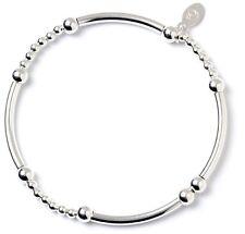 925 Sterling Silver Ball Bead Noodle Roodle Bracelet RB012