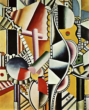 Leger 14 Le eliche Poster 50x70 Stampa Papi Arte Moderna