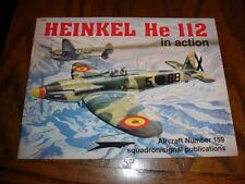 "WW2, German, Heinkel HE-112, ""In Action"" Series."