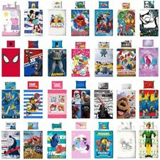 Kinder Premium Bettwäsche 135x200 Marvel DC Comics Star Wars Lego Pokemon Disney