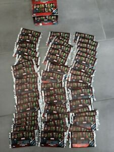 LOT 56 POCHETTES CARTE MARVEL MISSIONS Trading Card Game NEUF the Avengers TOPPS