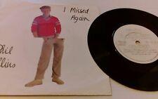 "Phil Collins-I Missed Again-VS 402-Vinyl-7""-Single-Record-45-1980s"