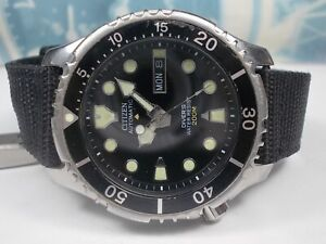 CITIZEN PROMASTER 200M DIVERS DAY/DATE AUTO MEN'S WATCH (SN 845227)