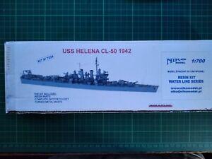 1/700 Niko USS Helena light cruiser 1942 Resin Kit