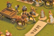 25mm ACW / old west - wagon & civilians (as photo) - scenics (42839)