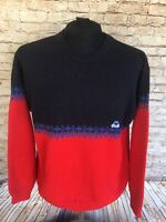 Vintage KAPPA Thick Woolen Cable Knit Jumper | Large | Sweater Pullover