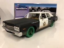 RARE Blues Brothers 1974 Dodge Monaco Bluesmobile Greenlight 84011 1:24