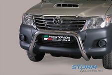 Toyota Hilux MK7 2012-2015 Misutonida S/Steel EU Front Bar, Bull Bar, 76mm