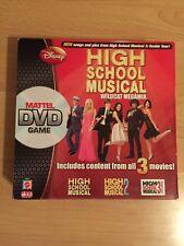 HIGH SCHOOL MUSICAL WILDCAT MEGAMIX DISNEY DVD BOARD GAME 100% COMPLETE VGC