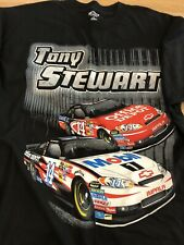 SZ LG NASCAR Tony Stewart  BASS PRO Team Issued Crew Shirt Stewart Haas Racing