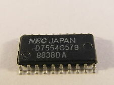 UPD7554G579 NEC 4-Bit, Single-Chip CMOS Microcomputers With Serial I/O