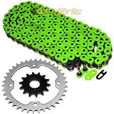 Green O-Ring Drive Chain & Sprockets Kit Fits YAMAHA RAPTOR 700 YFM700R 2006-16