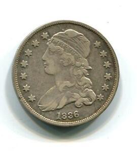 1836 Capped Bust Quarter |  Silver 25 cents | Philadelphia (RC19249)