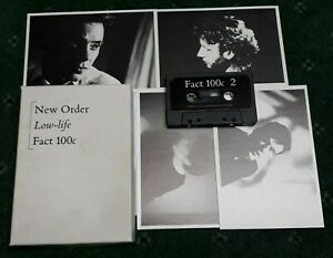 NEW ORDER LOW-LIFE CASSETTE TAPE BOX SET FACTORY UK 1985 FACT 100c
