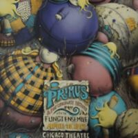 Primus - 2015 PEZ Chicago Theatre screen printed poster 1st edition