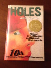 Signed HOLES Louis Sachar 10th Anniversary Ed NEWBERY & NAT'L BOOK AWARD WINNER!