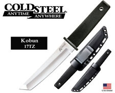"""Cold Steel 5.5"""" Fixed Blade Knife Kobun AUS 8A Stainless Secure-Ex Sheath 17TZ"""