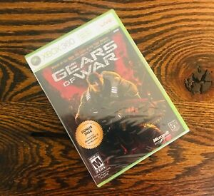 Gears of War NEW Xbox 360 Early White-Label US Edition Print SEALED, RARE