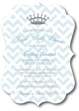 20 Prince Baby Boy Shower Invitations with Envelopes