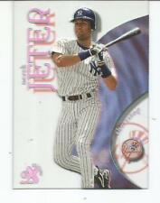 1999 FLEER / SKYBOX EX CENTURY DEREK JETER CLEAR ACETATE CARD #9