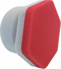 Lake Country 3.75 Inch Red Hex Precision Applicator 89200