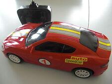 VOITURE SPEED CAR RADIO COMMANDEE MODELCO 1/16 ROUGE EN BOITE NEUVE