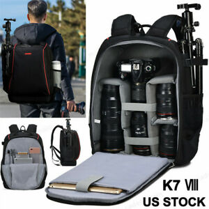 Professional Large Capacity Camera Bag Backpack For Canon Nikon Sony Leica SLR