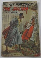 IN  POWER OF SULTAN GUY BOOTHBY PALL MALL SERIES #13 DIME NOVEL ARTHUR WESTBROOK