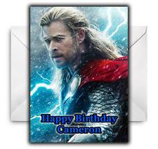 THOR Personalised Birthday / Christmas / Card - Large A5