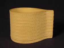 VERY RARE EARLY 1800s CUSTARD CUP CANEWARE CANE YELLOW WARE MINT