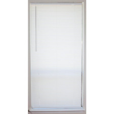 Cordless Window 1 In. Vinyl Mini Room Blind - Variety Of Size Horizontal Slats